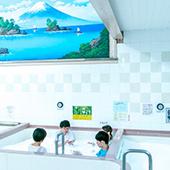 小杉湯で着衣のまま入れる「混浴アートイベント」開催