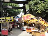 高円寺氷川神社のお祭り